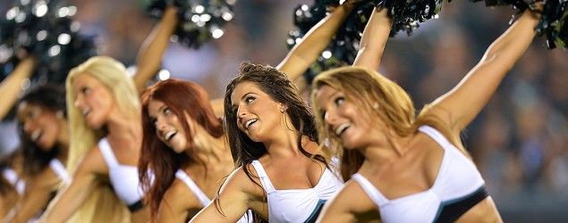 Philadelphia Eagles cheerleaders will get skimpy new outfits. (Getty Images)