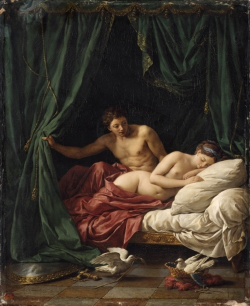 Mars & Venus, Allegory of Peace, Louis Jean François Lagrenée, 1770