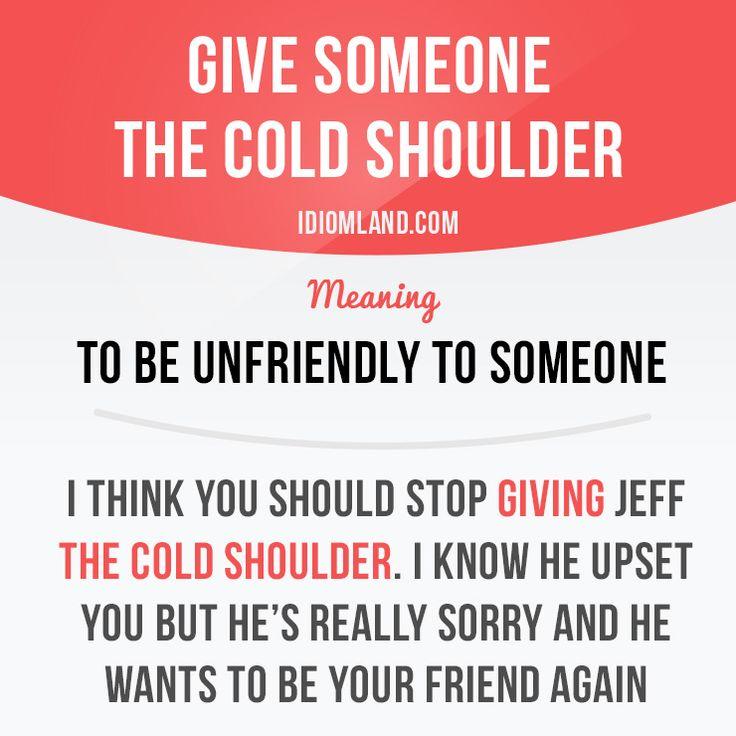 """""""Dar um gelo"""" em alguém"""
