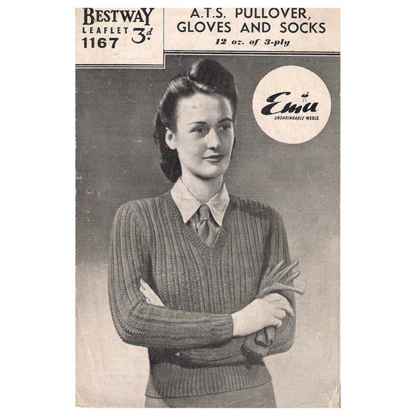 13 Best Vintage Knitting Patterns Images On Pinterest Vintage