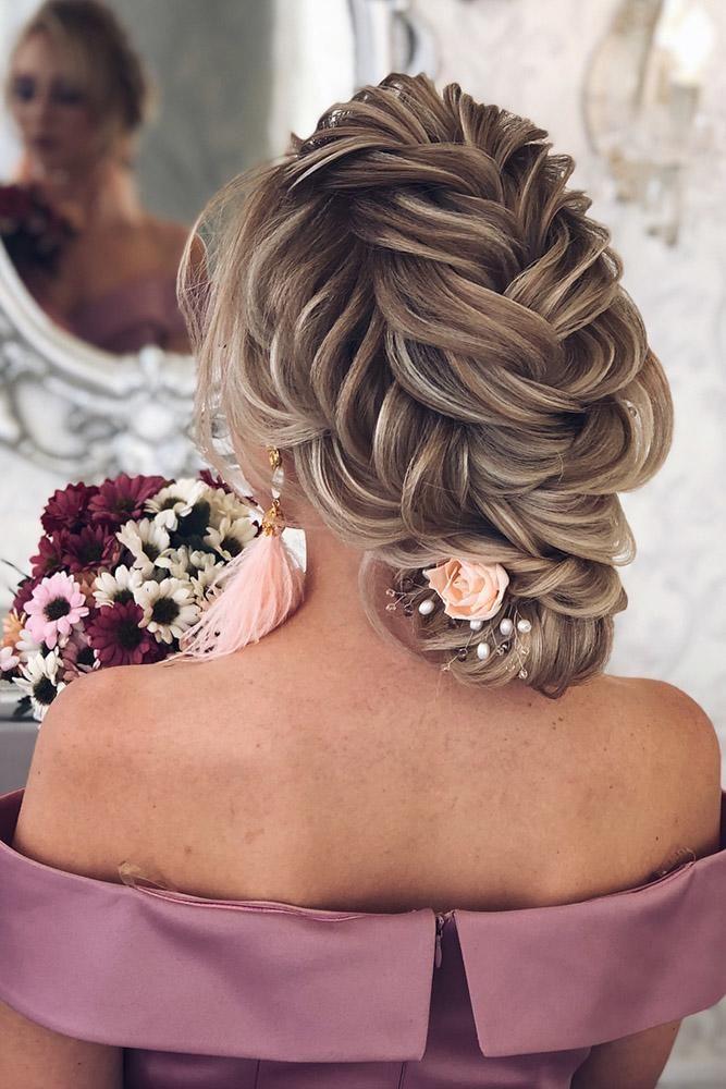 48 Perfect Bridesmaid Hairstyles Ideas Wedding Forward Bridesmaid Hair Bridemaids Hairstyles Junior Bridesmaid Hair