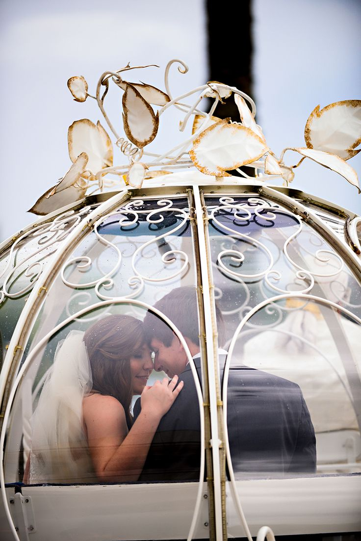 Don't forget to steal a moment to take it all in at your Disney's Fairy Tale Wedding