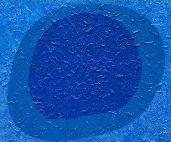 Mostra apresenta pinturas monocromáticas de Tomie Ohtake. Imagem: Divulgação