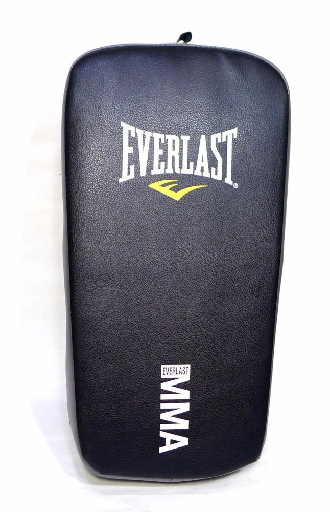 Everlast Muay Thai Strike Pad Boxing MMA Training Gear Black  #Everlast