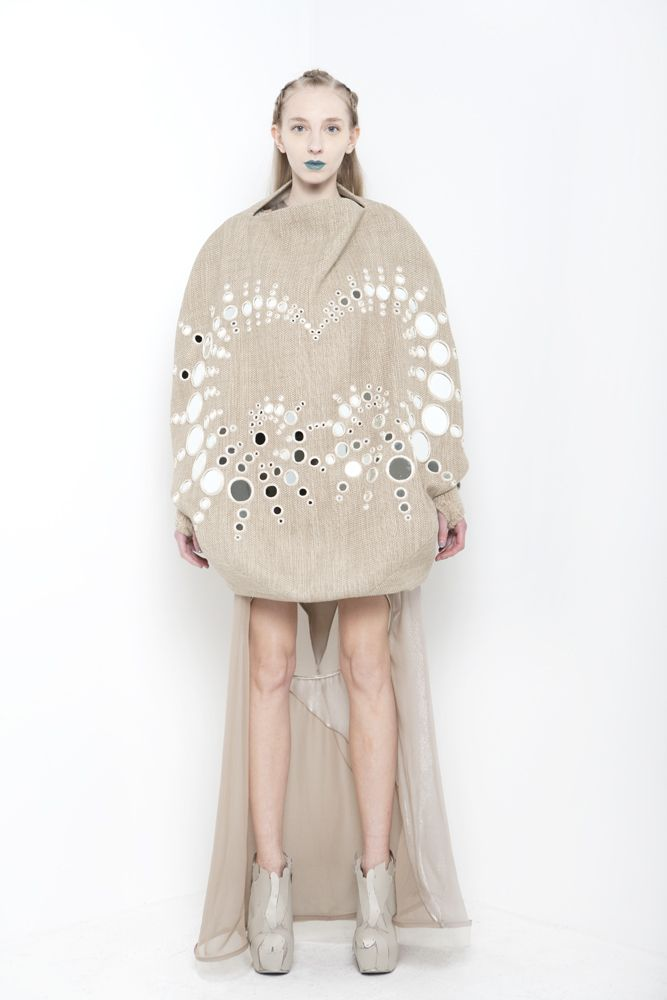 ThreeASFOUR, the avant-garde downtown label helmed by Gabi Asfour,  Angela Donhauser and Adi Gil, went on a spiritual journey this season,  centering their Fall/Winter 2013 collection around Ophiuchus, the newly  discovered 13th astrological sign.