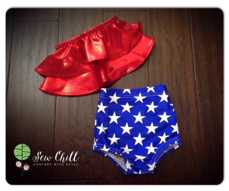 """Lady Liberty"" highwaist swimsuit by Sew Chill - Summer 2016"
