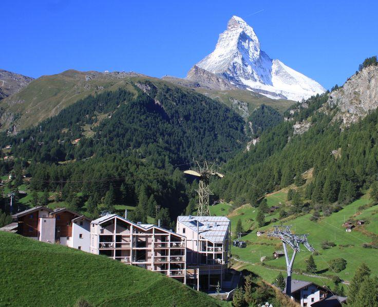 Hotel Matterhorn Focus | Design Hotel | Switzerland | http://lifestylehotels.net/en/matterhorn-focus | View | Alps | Matterhorn