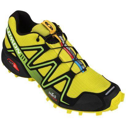 Tênis Salomon Speedcross 3 - Amarelo+Preto