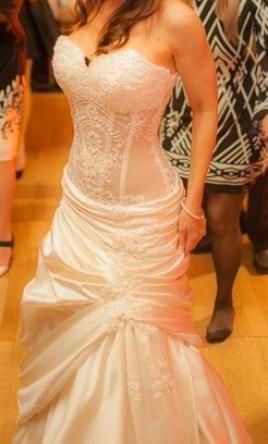 Pnina Tornai 6386-14098: buy this dress for a fraction of the salon price on PreOwnedWeddingDresses.com