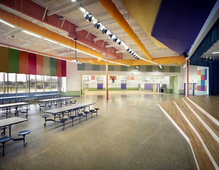 Adaptive Reuse Of An Empty Warehouse Becomes Austinu0027s Newest Elementary  School.