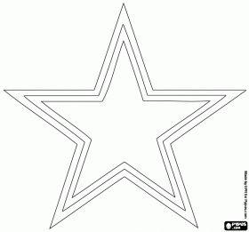A Star Dallas Cowboys Logo American Football Team In The