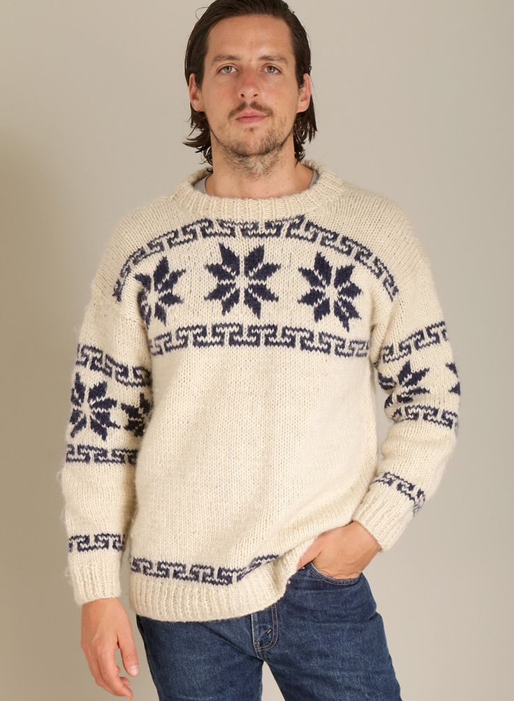 Sweater: http://retrock.com/collections/mens-christmas/products/winter-style-knitted-vintage-pullover
