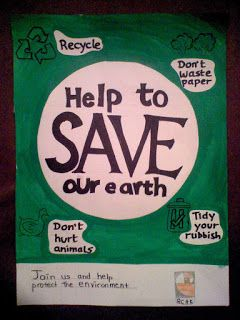 Help to Save Our Earth