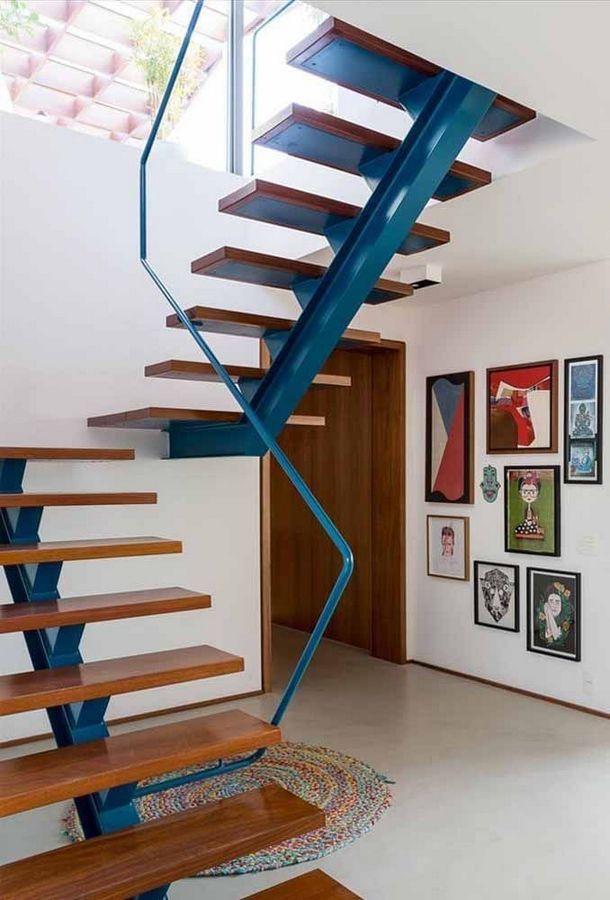 Modern Stair Design Decor Idea Idees Escalier Escaliers Maison Escaliers Modernes