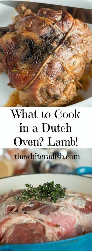 Dutch Oven Recipe for the oven that will give you yummy leftovers!