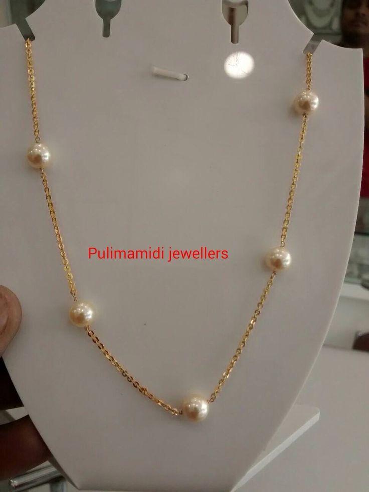 Simple pearl chain