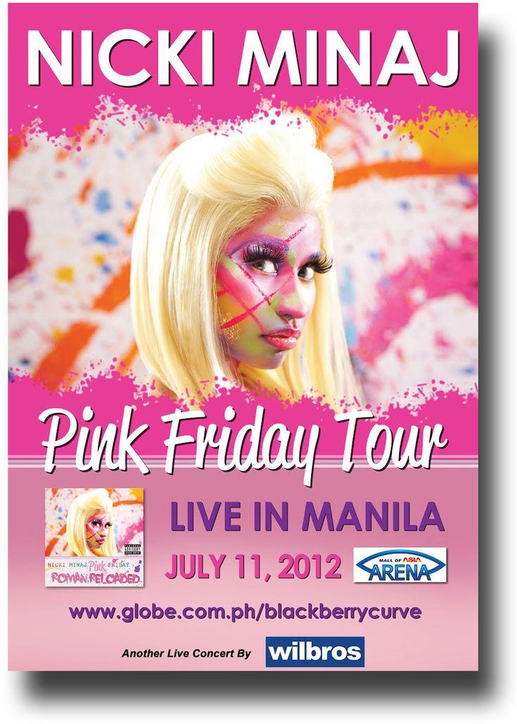 Nicki Minaj Poster Pink Friday Roman reloaded Poster $9.84 #NickiMinaj