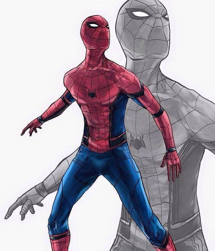 Civil War Spider-Man by Feakry on DeviantArt http://feakry.deviantart.com/art/Civil-War-Spider-Man-605851705
