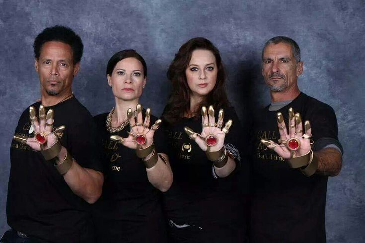 Apophis, Nirrti, Hathor, and Ba'al - The Go'ould from Stargate SG-1