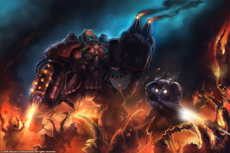 StarCraft Terran Firebat