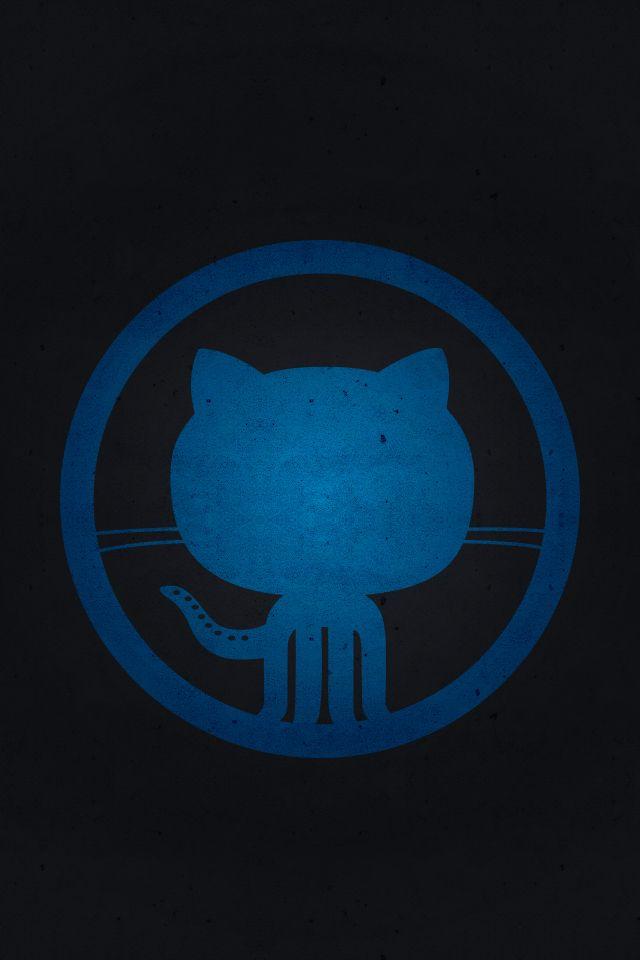 Github logo [blue]