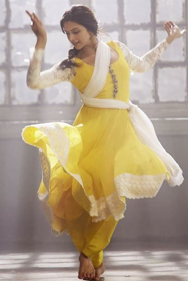 Deepika padukone Yellow Salwar Suit - Jomso