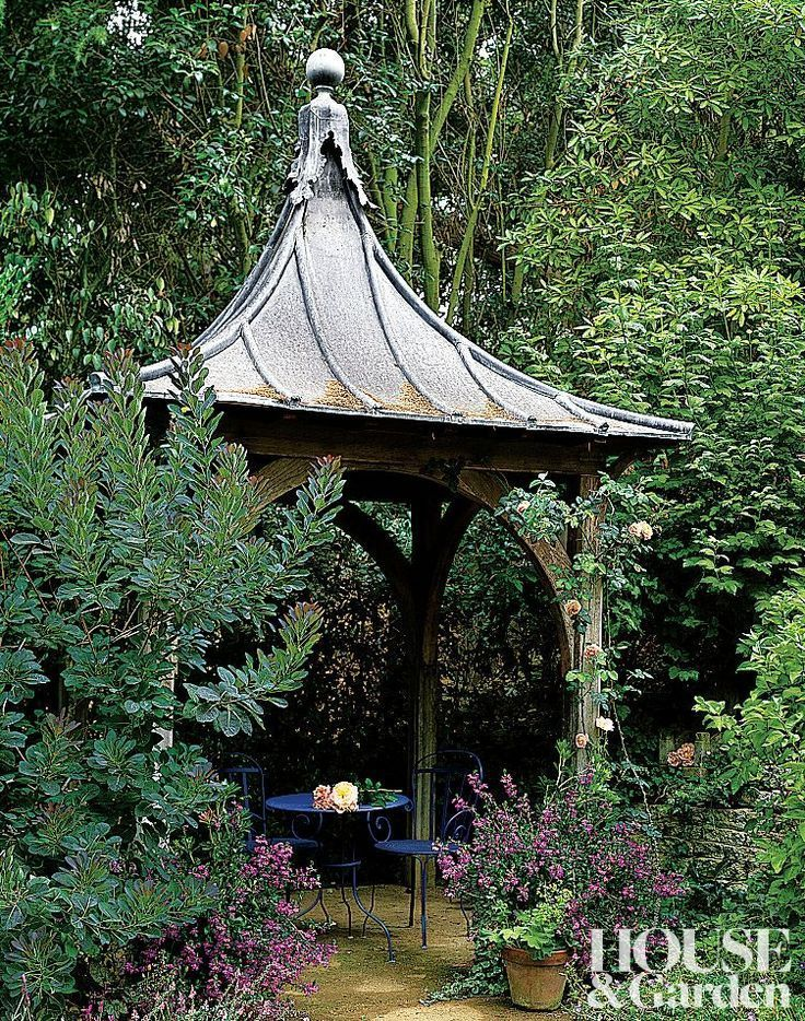 54 best images about garden wrought iron gazebo on for Japanese garden structures