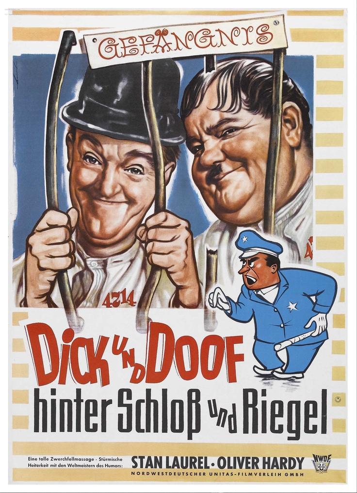 Pardon U.S.- Laurel and Hardy  movie poster