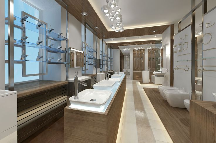Дизайн интерьера салона элитной сантехники. Санкт-Петербург. (350 кв.м.) - Дизайн-студия ICON