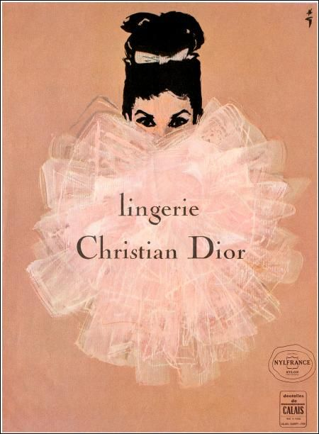 Renee Gruau for Christian Dior