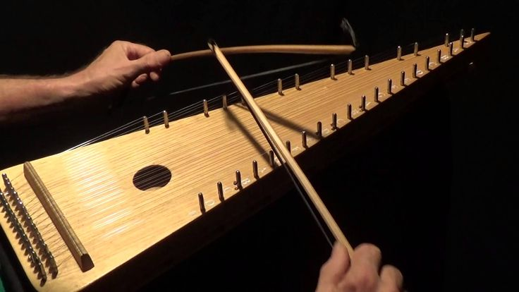 """The Star of the  County Down"" on Bowed Psaltery - YouTube"