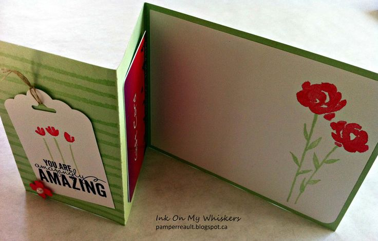 Painted Petals Gift Card Holder bit.ly/1aNZu2b