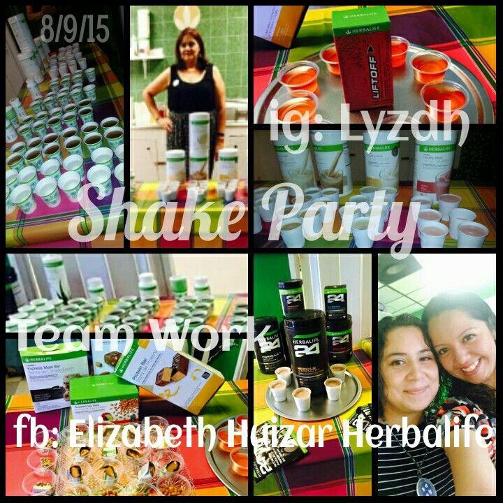We had a #great #ShakeParty. Now ready to #start planning the next #party.  #Herbalife #Nutrition #AskMeHow #PreguntaMeComo #Nutrición #Fun #HerbalifeGirls  #PicsArt #Shake #Formula1Sport  #Formula1 #Liftoff #Herbalife24 #24Fit #Powerful #Wellness #Bienestar #35YearsChangingLives www.goherbalife.com/Elizabethhd