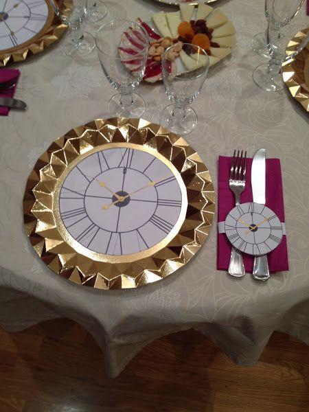 Decoración de la mesa de Nochevieja | VotaDIY