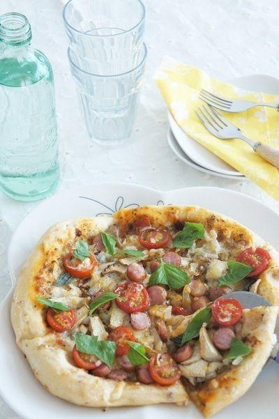 アンチョビとバジルのピザ by mi-inaさん   レシピブログ - 料理ブログ ...