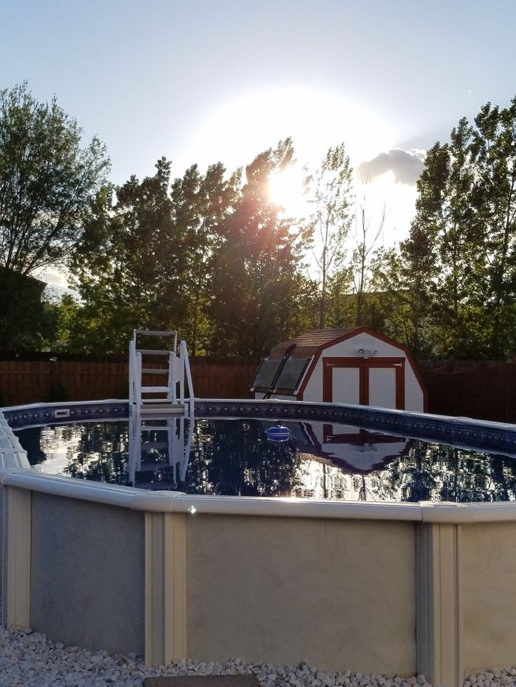 25 best ideas about pool solar panels on pinterest for Above ground pool siding ideas