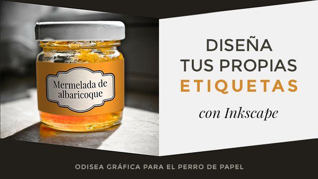 cómo diseñar tus propias etiquetas con Inkscape ¡tutorial de Minerva desde Odisea Gráfica! :D