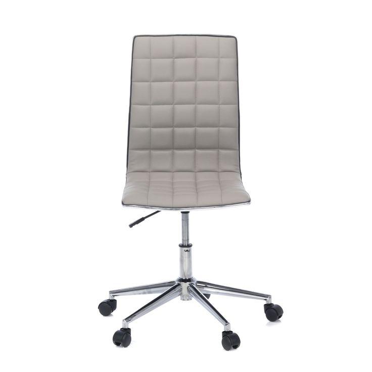 Fauteuil de bureau TAUPE - Liège - Les fauteuils et chaises à roulettes-Les sièges et fauteuils-Bureau-Par pièce - Décoration intérieur - Alinea