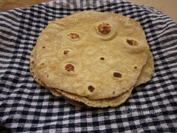 Čapati - indické placky