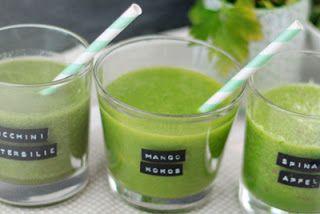 Grüne Smoothies - Meine 3 Lieblingsrezepte