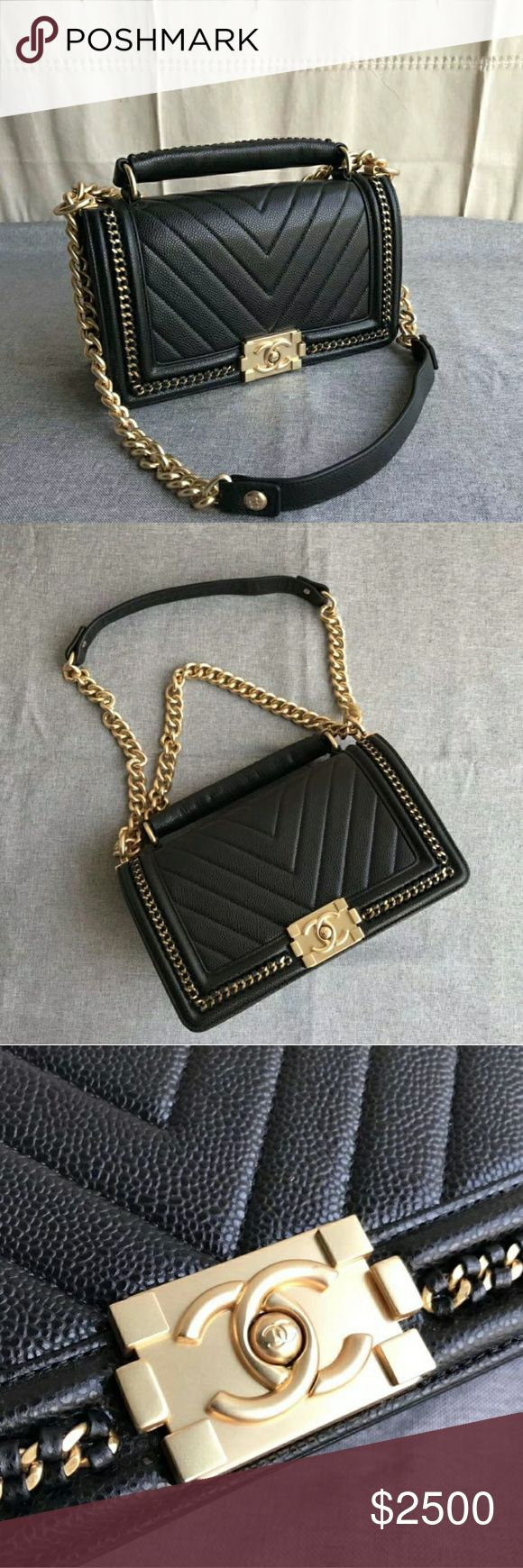 PreLove Chanel Caviar Perfect Condition  If you love Chanel you should know how much is the Retail price of this beauty, I won't take any counter offer my price is firm. CHANEL Bags Crossbody Bags