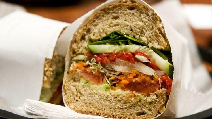Panino vegano senza maionese né salumi, panino vegano gourmet