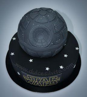 Dulce Silvita: Tarta Star Wars: Estrella de la Muerte - Death Star Cake