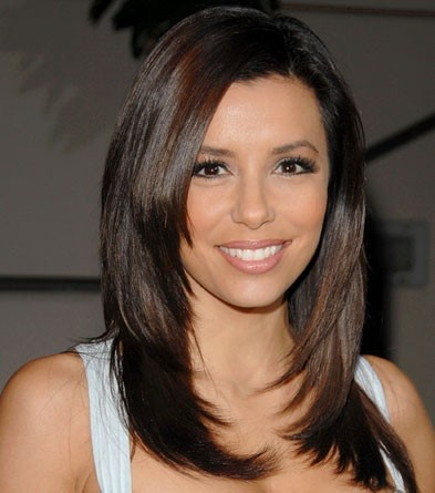 dark brown hair Love cut and color