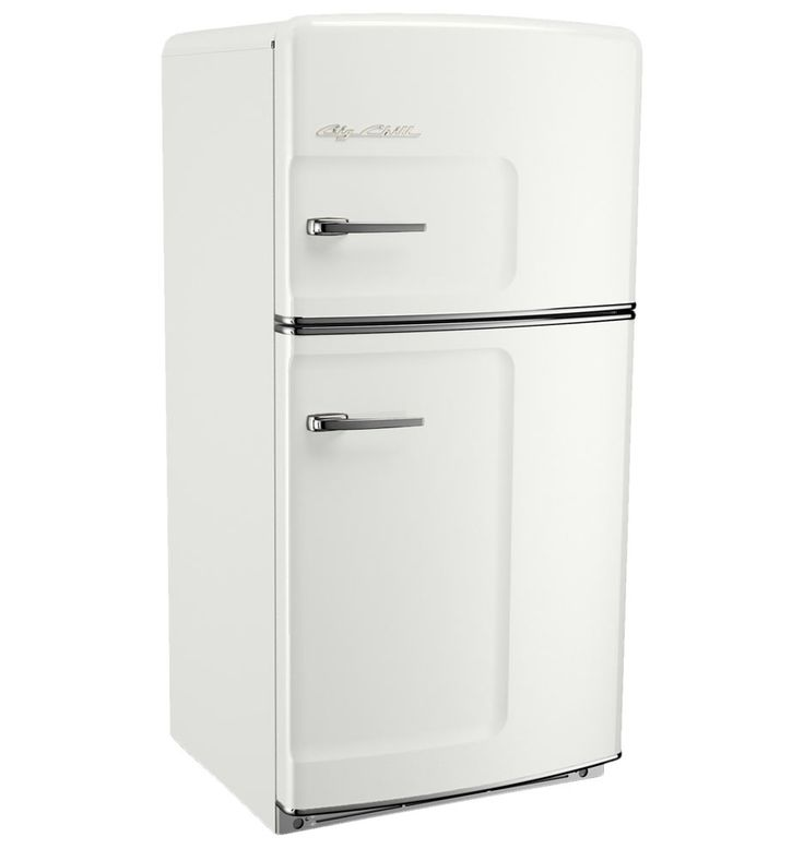 Ok, so we don't technically NEED a new fridge BUT...this would really look great  in the farmhouse!