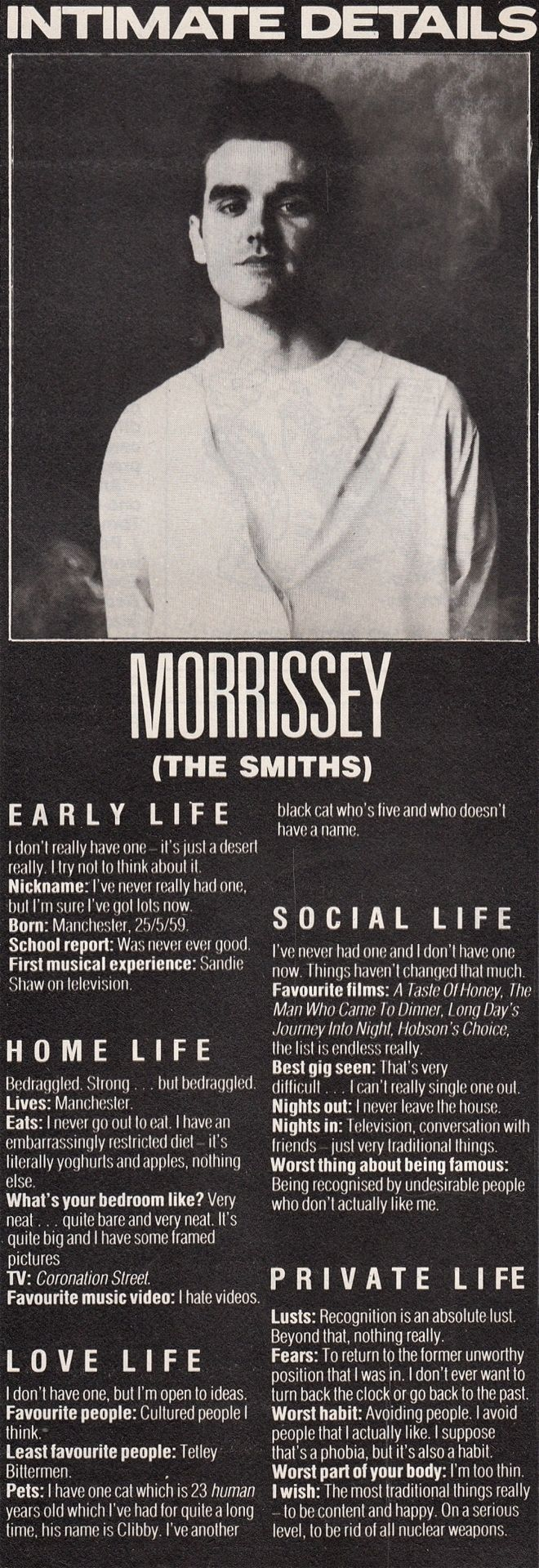 #morrissey this is so fantastic