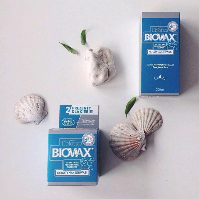 Góry czy morze? My dziś wybieramy morze... I keratynę z jedwabiem, idealne odżywienie włosów po dniu spędzonym na plaży ☺️☀️ #lato#wakacje#kosmetyki#polskiekosmetyki#pielegnacja#uroda#dziewczyny#polskiedziewczyny#kochamy#morze#biovax#lbiotica