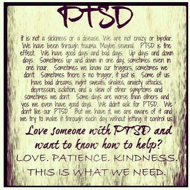 Dating veteran with ptsd