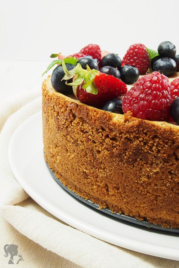 Jednoduchý ovocný cheesecake / Simple Fruit Cheesecake