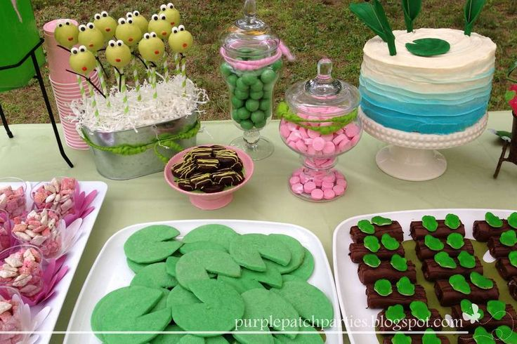 Frogs Birthday Party Ideas   Photo 16 of 17   Catch My Party